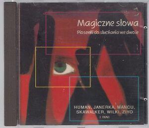 MAGICZNE-SLOWA-1994-MJM-JANERKA-MANCU-ZIYO-HUMAN-SKAWALKER-TOP-RARE-OOP-CD