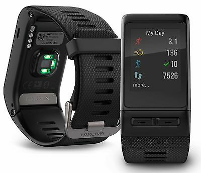 Garmin vivoactive HR GPS Smartwatch Black Regular Fit 010-01605-03