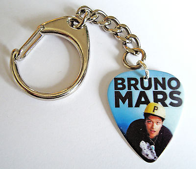 BRUNO MARS Plectrum/Pick Bag Charm Keying