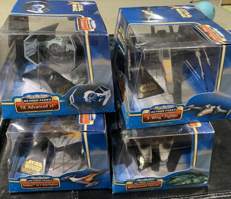 Star Wars Micro Machines Action Fleet set of 4 vehicles Hasbro MISB