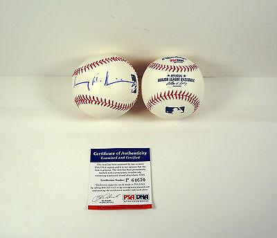 Henry Kissinger Secretary Of State Signed Autograph Mlb Baseball Psa Dna Coa