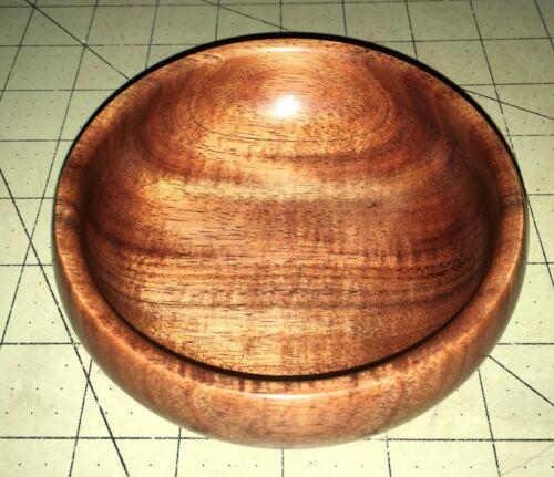Hawaiian KOA Wood Art Bowl~Local Artist~Gallery & Collector Quality~Gift (#10)