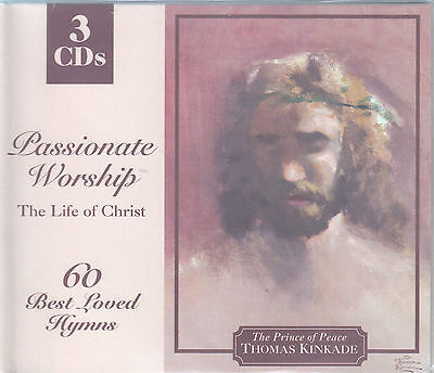 Passionate Worship: The Life of Christ (Kinkade) - 60 Best Loved Hymns (3 CDs) Best Loved Hymns Import