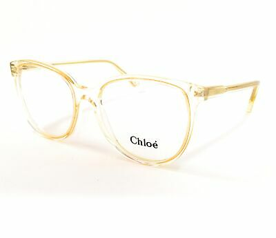 CHLOE Eyeglasses CE2719 799 Yellow Cat Eye Women's 54x17x140