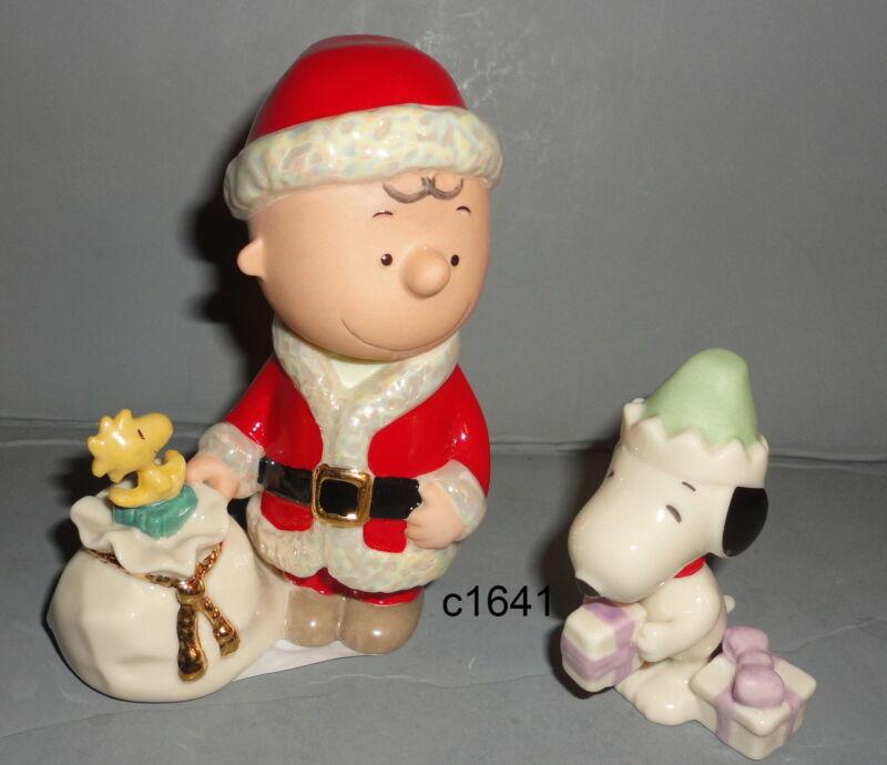 Lenox Peanuts Snoopy Charlie Brown