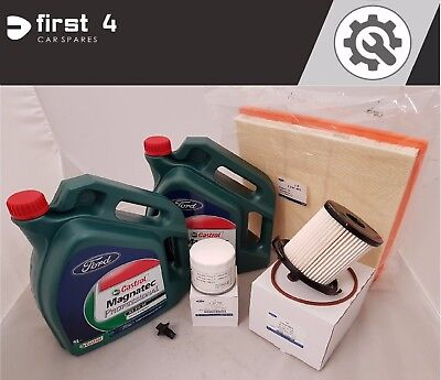 NEW GENUINE FORD TRANSIT CUSTOM 2012> SERVICE KIT INC. OIL AND ALL FILTERS SV22