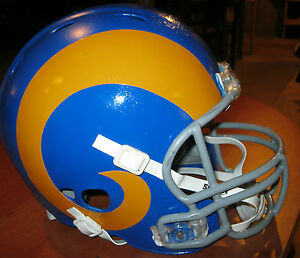 Los Angeles St Louis Rams 1980 Throwback Riddell