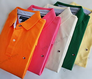 NWT-TOMMY-HILFIGER-MENS-CLASSIC-KNIT-POLO-SHIRT-NEW