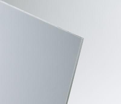 Kunststoffplatte 2 mm hellgrau | Hart PVC | 2000x1000 mm | Wandverkleidung