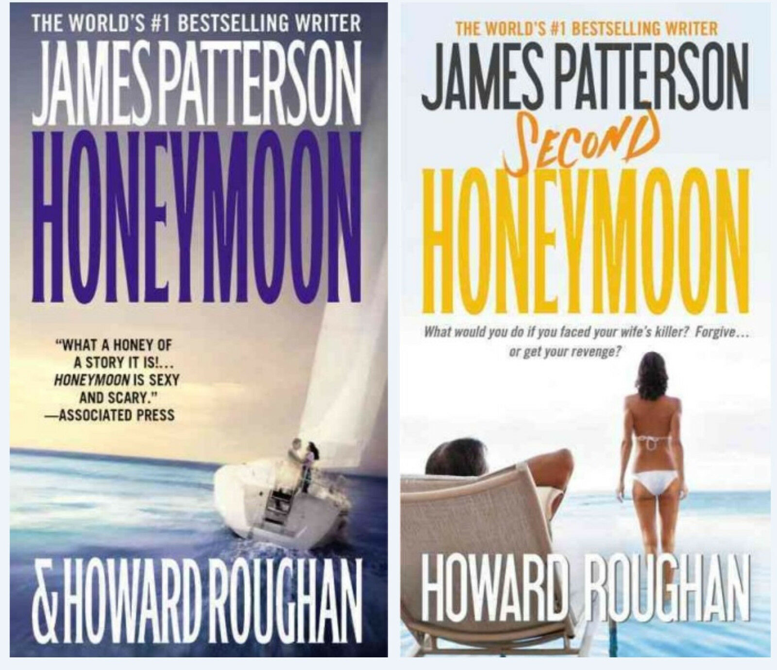 """Image for """"James Patterson HONEYMOON Paperback Series 1-2! by Patterson, James"""""""