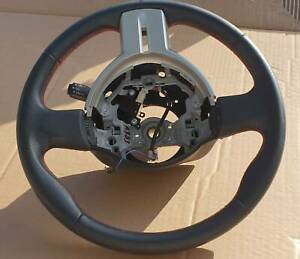 Toyota 86 ZN6 Black Leather Steering Wheel with RED stitching Kingswood Penrith Area Preview