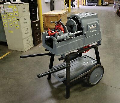Ridgid 93287- 535 Pipe Threading Machine New Style Hi-top