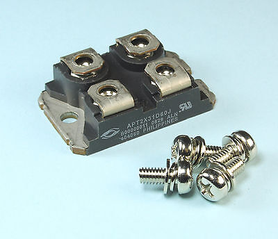 Microsemi Corp Switching Diode 600v 30a 4-pin Sot-227 Isotop Apt2x31d60j
