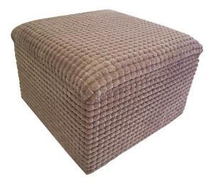 Fabric Storage Footstools