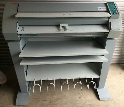 Oce 7051 Wide Large Format Plain Paper Copier With Stand - Blueprints Plotter