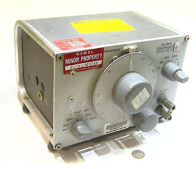 Genrad General Radio 1309-a Used Military Signal Generator Frequency Oscillator