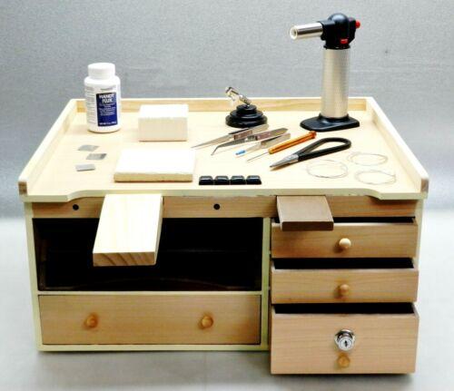 Workbench & Jewelry Soldering Tools Supplies Make Jewelry Solder & Repair Bench