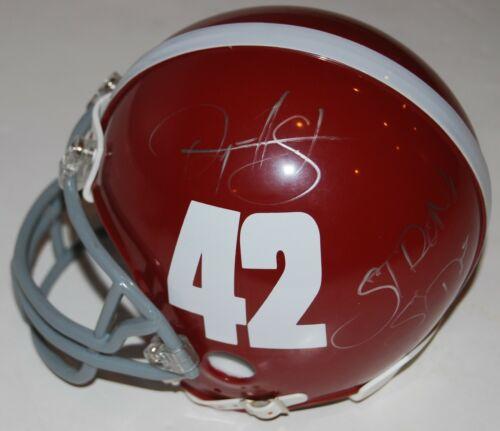 RYAN HURST signed (REMEMBER THE TITANS) mini football helmet Gerry Bertier COA 2