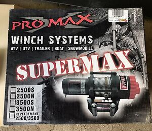 Pro max accessories & Warn 3000lbs pro vantage