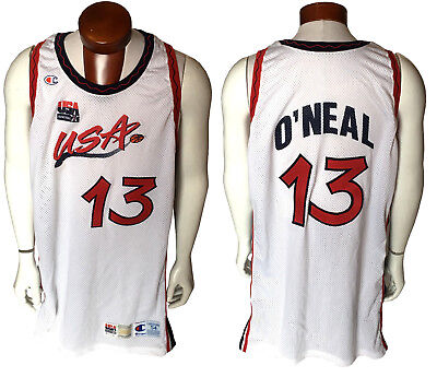 66d885b816b3 Shaquille O Neal Shaq game used 1996 97 USA olympic basketball jersey CBM  COA