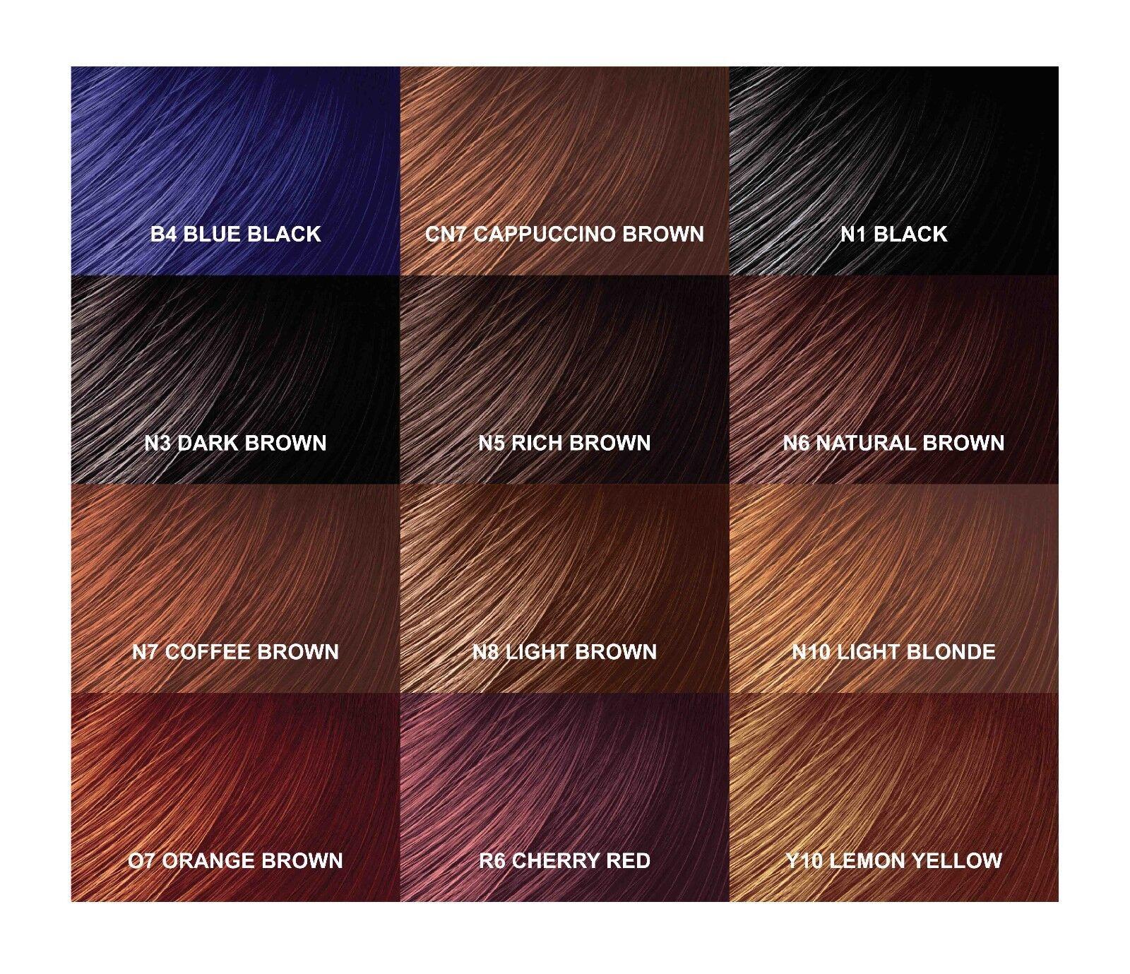 Zotos hair color chart