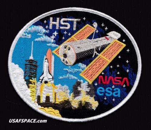 """HUBBLE HST Launch COMMEMORATIVE -NASA-ESA-TIM GAGNON ORIGINAL 5.125"""" SPACE PATCH"""