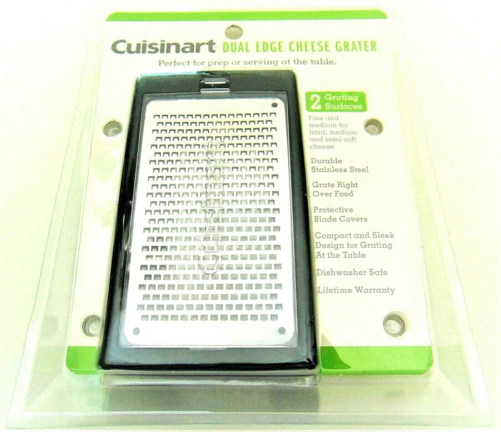 Cuisinart Professional Cheese Vegetable Grater Zester Dual E