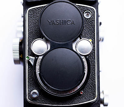 Yashica - 635, And Yashica D Replacement Front Cover - Genuine Leather