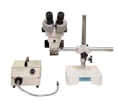 Nikon Smz660 Microscope W Stand Foi-1 Light Source Fiber Optics 9066r