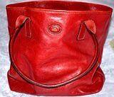 The Bridge Red Leather Handbag