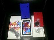 "Alba 7"" Tablet FULLY BOXED WITH EXTRAS great conditionin Kings Lynn, NorfolkGumtree - Alba 7"" Tablet 16gb Storage 1gb Ram 2 X Protection Silicone Bumpers (red & Blue) GREAT CONDITION COMES IN ORIGINAL BOX"