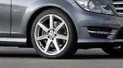 "Mercedes AMG wheels 18"" Genuine"