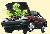 WANTED: cars ,trucks,vans CASH TODAY
