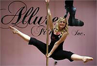 SALE!! Intro. to Pole Fitness: Pole 101 @ Allure Fitness Inc.!