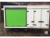 "1 left Fridge storage body's for sale in great condition 12ft 8"" long 5ft8 high 5ft8"" wide"