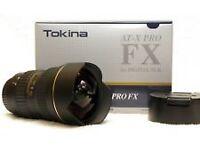 Tokina 16-28mm f/2.8 AT-X Pro Canon Mount (Pristine)