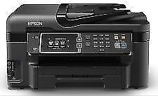 Epson Workforce WF-3620 WITH INK Print / Copy / Scan / Fax