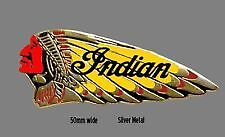 Indian Motocycle War Bonnet Bikers Badge, Lapel Pin