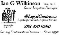 PARALEGAL SERVICES - GUELPH ON