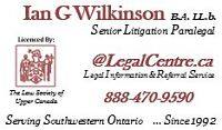 PARALEGAL SERVICES - WOODSTOCK, ON