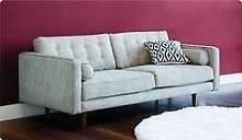 3 seater Lounge + Ottoman set Paddington Eastern Suburbs Preview