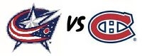 *** BELOW COST*** Habs tickets vs CLB on Dec 1 (White 325 BB)