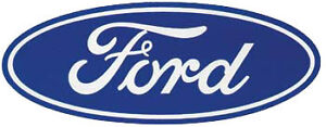 FORD RACING BLUE OVAL FORD DECAL M-20000-D101