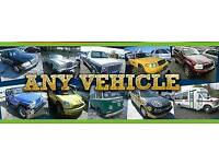 Scrap or unwanted vehicles