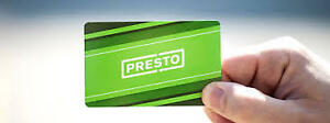 Unlimited Loaded Full Month HSR Presto August Bus Pass