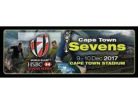 HSBC Cape Town Sevens Rugby 7s on 9 and 10 December