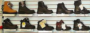 SZ 8 to 13 Dakota Terra Safety WINTER BOOTS CAS Steel Toe/Plate