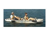 Wanted tandem/double/twin/2 seater/2 man kayak