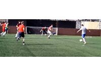 Player needed for 5 a side football Wednesday 29th March 6pm Caledonian Road Holloway Road Islington