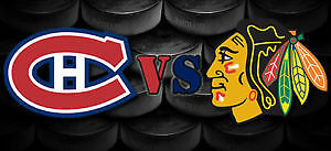 Canadiens vs Blackhawks Centre Bell, Monttréal, 14 mars 2017